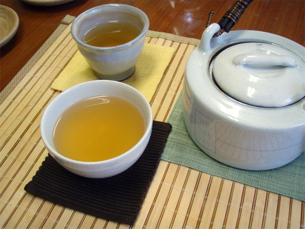 柿の葉茶飲み方